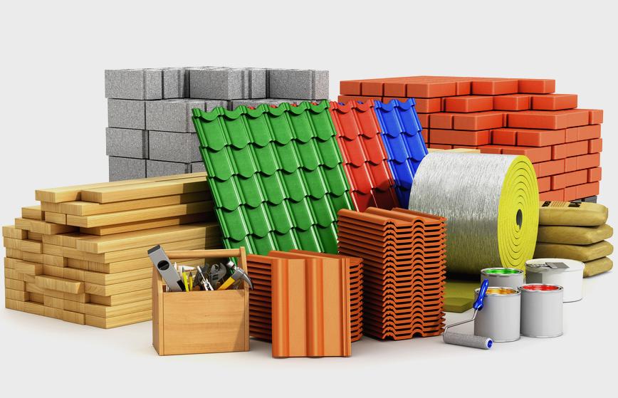 Типы строительных материалов